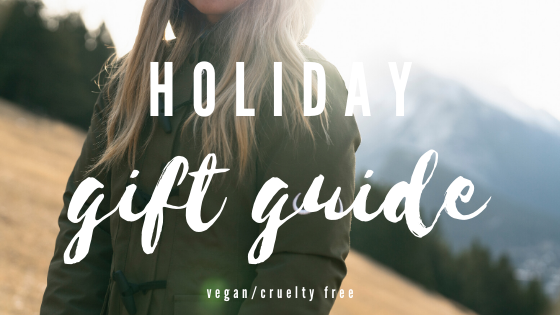 Vegan Adventurer Holiday Gift Guide